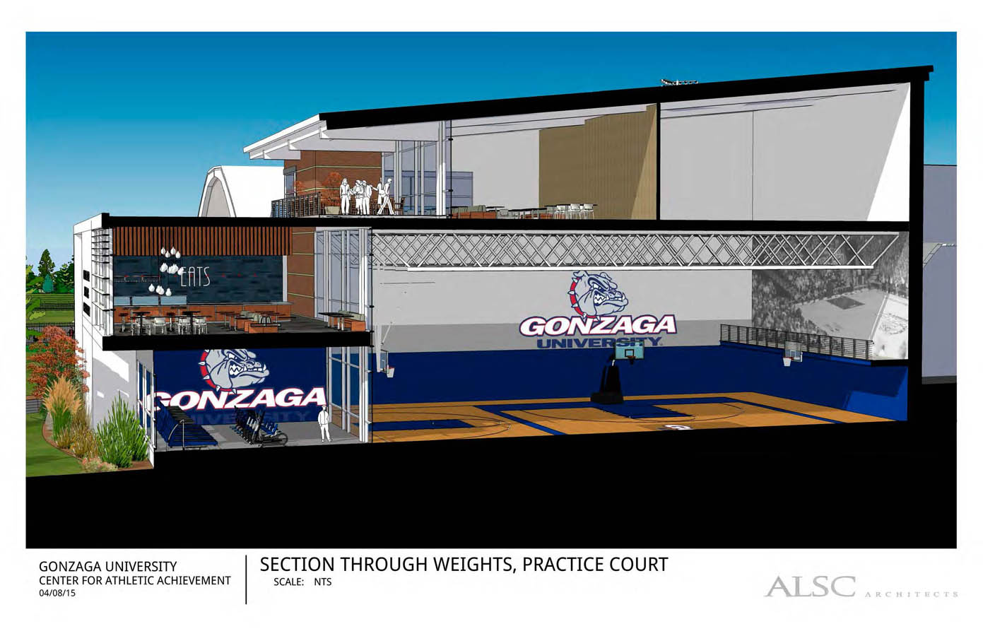 Combined with spaces in the Martin Centre and McCarthey Athletic Center, the building will provide Gonzaga student-athletes with among the finest facilities ...